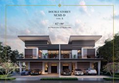 New Project -Meridian Double Storey Residences For Sale
