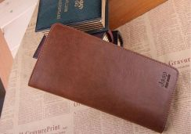 Jeep Genuine Leather Men's Long Wallet