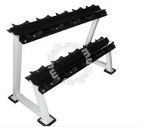 Commercial Gym Fitness Dumbbell Weight Rack- New