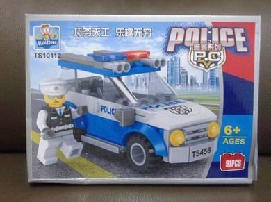 Brick Police Car TS10112