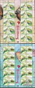 2007 SHEETLET Insects III Stamp Malaysia UM