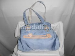 United Colour of Benetton light blue tote bag