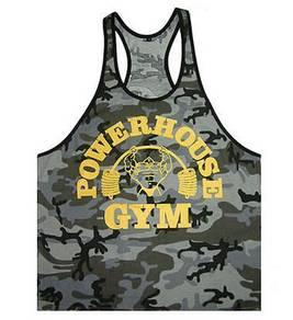 Soilder power house gym singlet baju gym