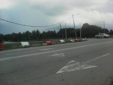 Tanah 3 Ekar Tepi Jalan Raya di Mukim Pulau Manis, Pekan, Pahang