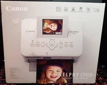 Canon Selphy CP820 Compact Photo Printer