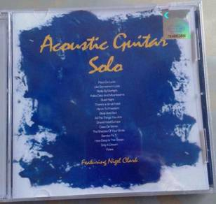 IMPORTED CD Acoustic Guitar Solo CD
