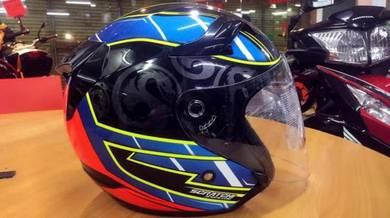 KYT XAVIE SEMEON MOTO 2 Helmet