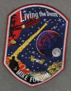 Expedition 28/29 Mike Fossum Personal Space Patch