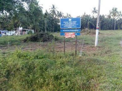 Tanah utk di jual di Kg Triang Kecil Endau.