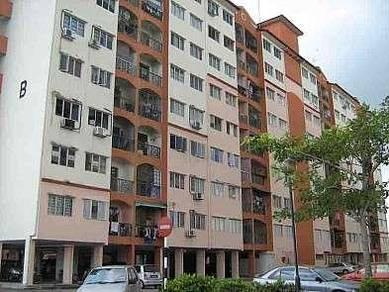 Apartment Impian Sentosa,bandar puteri Klang