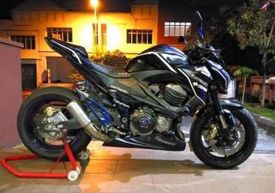Kawasaki Z800 z8 Blue Razor 2013 z750 z900