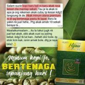 Alana green coffee premium 😄😄😊😊