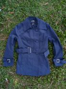 Ined trench coat