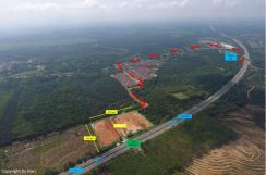 6.75 Acre Pedas Seremban Direct Facing Highway Flat & Clear Land FH