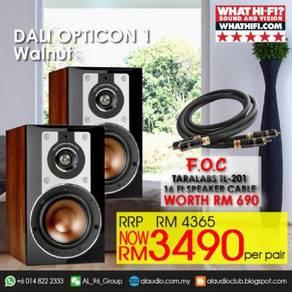 DALI OPTICON 1 BOOKSHELF SPEAKER �WALNUT / Pair