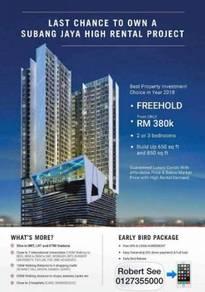 œ0� downpayment RM 380k - High Rental Investment Property