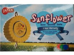 Sun Flower Electronic Baby Cradle with Timer