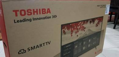 TOSHIBA 40 SMART FULL HD LED TV(baru, warranty)