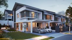 CHLOE RESIDENCE LOW D/P FREEHOLD KOTA EMERALD NEW PROJECT RAWANG 22x70