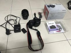 Canon EOS 60D full set with 28-135mm IS USM lens