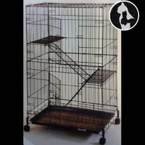 Sangkar Kucing (NEW) Cat Cage 2 tgk