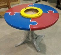 Special design kids table
