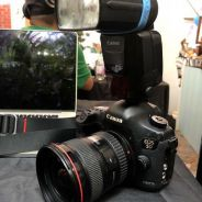 Canon 5d iii , 17-40mm ,ex600rt