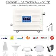 2G 3G 4G TRI Band Mobile Signal Booster Repeater