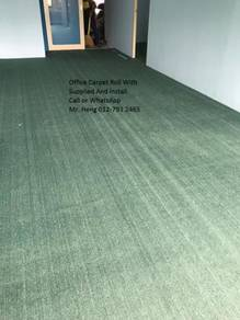 Natural Office Carpet Roll with install ghj596