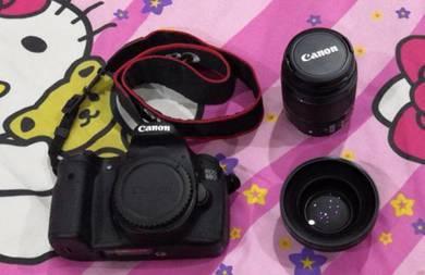 Canon 60D SC 3k only + Canon 18-55mm Lens