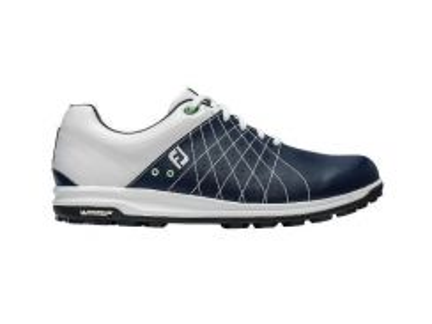 FootJoy Treads Spikeless Shoe White Navy #56210