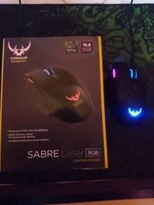 Gaming Mouse Corsair SABRE Laser RGB