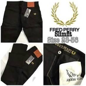DRTS393 Men slimfit FREDPERRY pants jeans