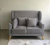 High Quality 2 Seater Sofa (Grey)