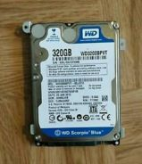 WD Scorpio 320GB Laptop Hard Disk