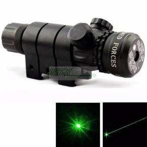 Green Laser Pointer Sight Aiming Laser 20mm Rail Q