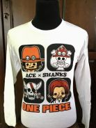 Nike One Piece Ace x Shanks supreme limited rare