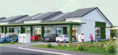 Banting Single Storey Teres near to KLIA with 4 Bedrooms