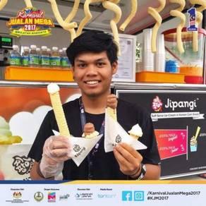 Korean Ice Cream Food Truck
