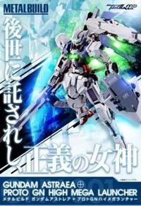 Metal Build Gundam Astraea GNY-001 toys
