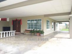 [Partially Furnished] Double Storey Terrace Corner Stapok Kuching