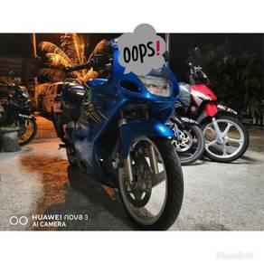 Kawasaki rr150 untuk dijual