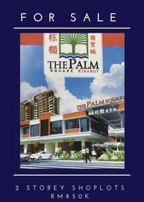FOR SALE 2- Storey Palm Square Intermediate Shoplot Kinarut, Papar