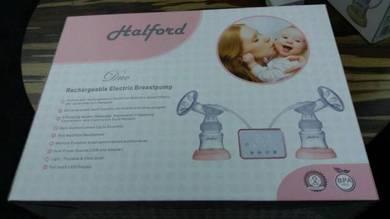New in box halford twin breast pump