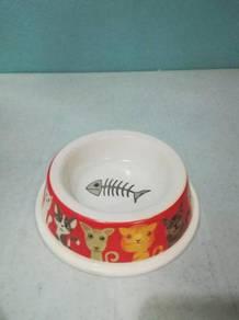 Bekas Makan Kucing Arnab Cat Rabbit Pet Bowl A018