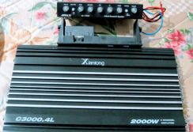 Power amp,pre amp,monitor