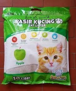 Pasir Kucing Kawan 10Liter bau apple atau lemon
