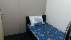 For girl.Non-sharing-FULLY FURNISHED room.Near LRT CAHAYA walk in 3min