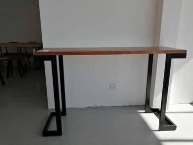 Skov Wood Slab - Keruing Console Table