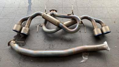 HKS Spec R titanium Exhaust R35 GTR GTR35